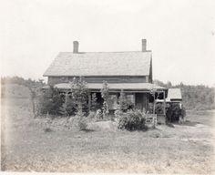 Abolitionist John Brown Farm  Antique Photo    Lake by photopicker