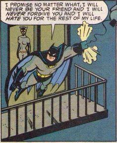 Back when Batman was a 12 year old girl