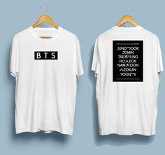 023ba1aec833 BTS Members Hangul T-shirt Hangul T-shirt Kpop Merch Bts Shirt Kpop Shirt Bangtan  boys Seoul South korea Love Bangtan Jungkook shirt Namjoon