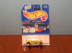 Hot Wheels Track T #6 Hot Rod Magazine 2000 Yellow 50 Cent Combined Shipping #HotWheels #Ford