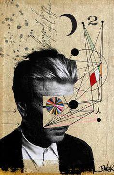 "Saatchi Art Artist Loui Jover; Collage, ""lynch"" #art"
