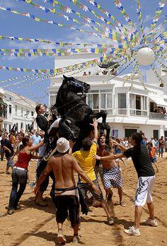 Fiesta Menorca Spain