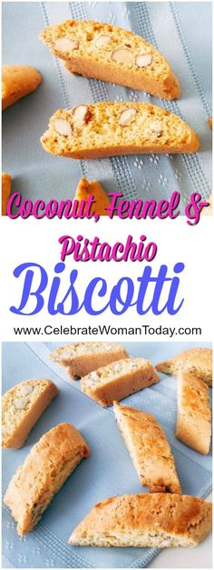 Italian favorite cookie of all times – BISCOTTI! Easy to bake recipe to try in your kitchen. #RecipeIdeas