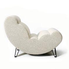 WHITE - Cloud Chair