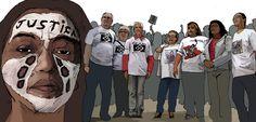Jornalismo em quadrinhos sobre o aumento de mortes na periferia de São Paulo.