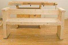 Superenkel bänk som alla kan bygga! - viivilla.se