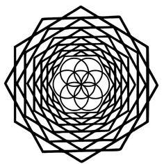 Semilla encapsulada de vida geometría por BeeMountainGraphics