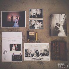 Wedding Packaging | Fine art Book | Print and wood box |  www.elisabettaricciowedding.com