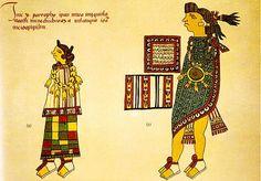 ancient aztec clothing - 700×487