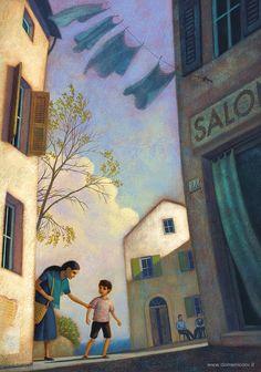 Cicero's Island: Illustration by Paolo Domeniconi