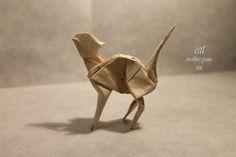 CAT by Mathieu Gueros Origami