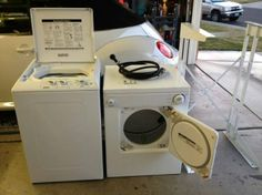 portable washer   Kenmore PORTABLE ( Stackable ) WASHER & DRYER SET... 110v Electric ...