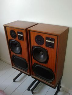 Classic KEF Reference Series Model 104 aB Speakers - Superb Sound 104aB