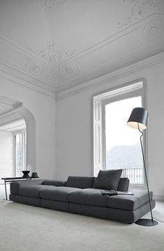 Modern Furniture Ideas Living Room 50 shades of grey  rooms | pillows, modern and spaces