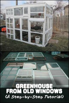 Learn how to build your own unique greenhouse using old drawers with this step-by-step tutorial!