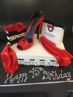 Las mejores y mas ricas tortas decoradas de Santiago Louboutin Pumps, Christian Louboutin, Jimmy Choo, Heels, Blog, Fashion, Santiago, Salads, Heel