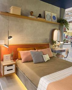 Apartment Bedroom Decor, Home Bedroom, Bedroom Furniture, Luxurious Bedrooms, Interiores Design, Home Interior Design, Room Inspiration, House Design, Future