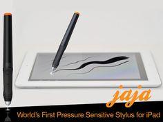 jaja :: A primeira caneta sensitiva de pressão para iPad. Pra quem gosta de desenhar é um show!