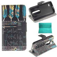 LG Leon Case,Moment Dextrad [Stand Feature][Slim Fit] Flip Premium Style PU Leather Wallet Case with [Card Slot],Cash Compartment Cover Only for LG Leon / LG Tribute 2 (Tribal feathers Pattern), http://www.amazon.com/dp/B013C5BWBA/ref=cm_sw_r_pi_awdm_ikxYvb0QW19J9