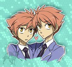 Ouran High School Host Club - Hikaru and Kaoru Hitachiin: anime, manga [ ;3 ]