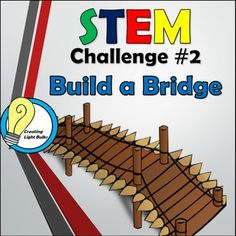 This STEM challenge is the perfect STEM activity to get students involved and excited about STEM. This is challenge number 2 of The full STEM bundle can be purchased here. Team Building Activities, Stem Activities, Odyssey Of The Mind, Engineering Technology, Stem Challenges, Stem Science, Mathematics, Number 2, Bridge