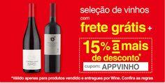 Cupom de 15% de Desconto em Vinhos na Americanas