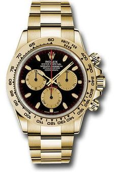 Rolex Watches: Daytona Yellow Gold - Bracelet 116508 bkchi