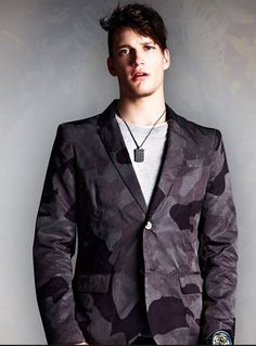 Diesel camouflaged jacket