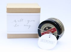 How To: 'Will You Be My…' Bridesmaid & Groomsman Mini-Gifts | Floridian Weddings