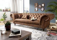 Canapé 234x92x82cm (Cognac) - PRESTON Preston, Sofas, Couch, Furniture, Home Decor, Products, Chaise Longue, Lounge Chairs, Living Room