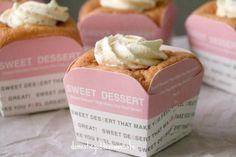 Earl Grey Hokkaido Chiffon Cupcakes