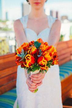 Bridal Bouquet, Wendell Florist - Phoenix Wedding http://caratsandcake.com/thebrooks