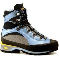 La Sportiva Trango S EVO GTX Mountaineering Boot - Women's. Best boots I've ever owned Trekking Shoes, Hiking Shoes, Evo, Backpacking Boots, Mountaineering Boots, Mens Snow Boots, Climbing Shoes, Walking Boots, Outdoor Woman
