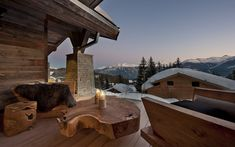 Chalet Seven, Crans Montana, Switzerland is a luxury ski chalet with indoor pool and its own games room and cinema from Firefly Collection.  www.firefly-collection.com.