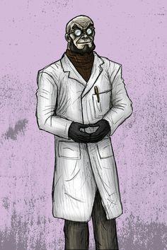 Hugo Strange - The Brilliant Psycologist by MattFriesen Batwoman, Nightwing, Batgirl, Gotham Characters, Comic Villains, Deadshot, Deathstroke, Hugo Strange, The New Batman