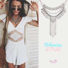 Colar bohemian style!😍