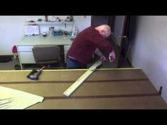 How To Mount A Swag And Jabot Valance Properly - YouTube