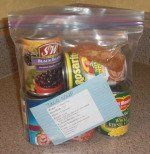 Meals Ready to Eat in a Bag- for crisis food storage and for hectic days, all dry pantry foods!