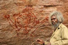 Guided Aboriginal rock art tour in Arnhem Land