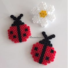 Ladybugs hama beads by minnitasarim