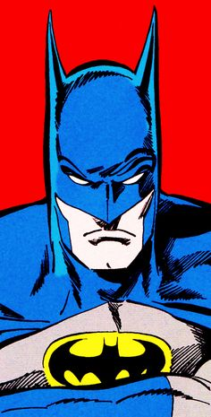 "The Displeased Bat in Batman Vol. 1 #429 January 1989 ""A Death In The Family Part IV"" - Jim Aparo & Mike DeCarlo"