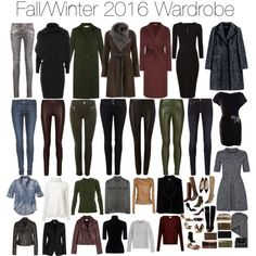 Month by Month Wardrobe - Fall & Winter