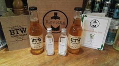 Great having photos from our customers! Bermondsey box featuring BTW and Jensen's Gins.