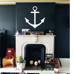Anchor Wall Decal | Wall Stickers | Walls Need Love Vinyl Art | a06