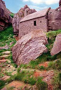St Govan's Chapel ~ Pembrokeshire, Wales