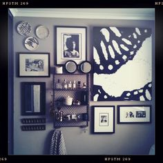 cool gallery wall