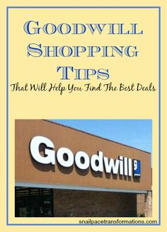 From searching out a great location to check out learn the ins and outs of Goodwill shopping. (make sure to read part 2 the dressing room and part 3 savings at the checkout to get all the great tips out of this series)