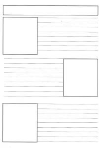 Templates Printable Free, Printable Paper, Free Downloads, Newsletter Template Free, Free Printable Stationery, Weekly Newsletter, Free Printables, Gestion Administration, Newspaper Front Pages