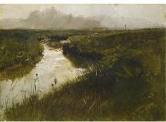 Andrew Wyeth - WESSAWESKEAG -1962