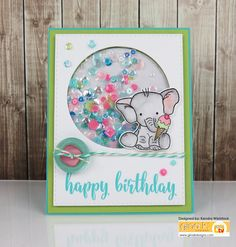 Tutorial: Sweet Bella Elephant with Zig Clean Color Markers - stampTV